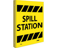 Spill Station Flanged 10X8 Rigid Plastic