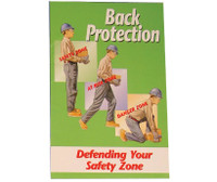 Handbook Back Protection Defending Your Safety Zone 10/Pk