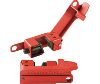 Grip Tight Circuit Breaker Lockout For Tall And Wide Toggles