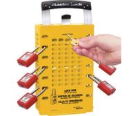 Group Lock Box Latch Tight Design Yellow
