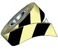 """Tape Glo Brite/Black Stripe 7550 High Tack 2""""X100'"""