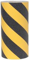 3360-12  Black / Yellow Anti-Slip Grit Tape