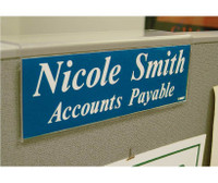 Acrylic Partition Sign Holder 2.5X8.5