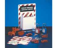 Lockout Center Circuit Breaker Equipped
