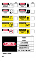 Labels Chemical Id 5X3 Ps Vinyl
