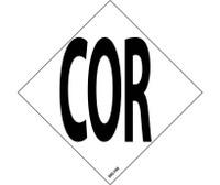 """Nfpa  Label Symbol Cor  3"""" (5/Pk) Ps Vinyl"""