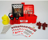 "Electrical Lockout Kit 12"" Tool Box With Contents"