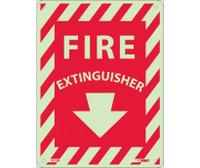 Fire Extinguisher 12X9 Glow Rigid