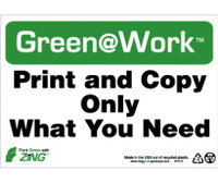 Print And Copy Only What You Need 7X10 Recycle Plastic