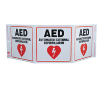 Tri-View Aed Automated External Defibullator 7.5X20 Recycle Plastic