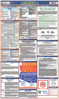 Labor Law Poster Arizona 40X24 State And Federal