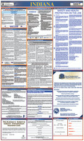 Labor Law Poster Indiana State And Federal 40X24