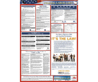 Labor Law Poster Federal 24X18