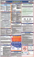 Labor Law Poster Arizona (Spanish),40X24State And Federal
