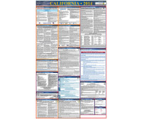 Labor Law Poster California (Spanish) State And Federal