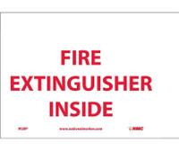 Fire Extinguisher Inside 6X9 Ps Vinyl