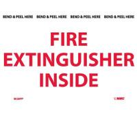 Fire Extinguisher Inside 3X5 Ps Vinyl