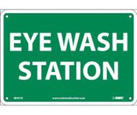 Eye Wash Station 7X10 Rigid Plastic