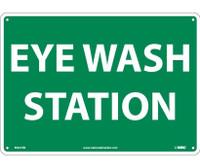 Eye Wash Station 10X14 Rigid Plastic