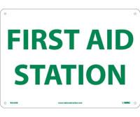 First Aid Station 10X14 Rigid Plastic
