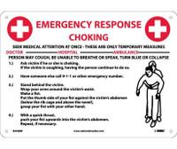 Choke Emergency Response 10X14 Rigid Plastic