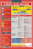Poster First Aid Guide 18X24