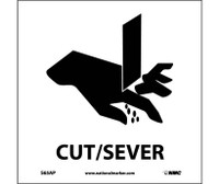 Cut/Sever (Graphic) 4X4 Ps Vinyl 5/Pk