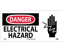 Danger Electrical Hazard (W/ Graphic) 7X17 Ps Vinyl
