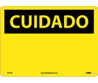 Cuidado (Blank) (Spanish) 10X14 Rigid Plastic