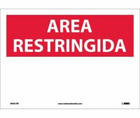 Area Restringida Blank 10X14 Ps Vinyl