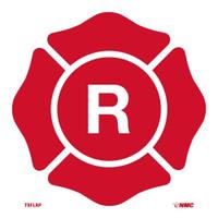 R Maltese Cross Symbol 9X9 P/S Egp Reflective Vinyl