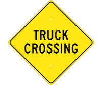 Truck Crossing 24X24 .080 Hip Ref Alum