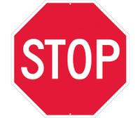 Stop (Octagon) 30X30 .063 Alum