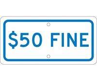 $50 Fine 6X12 .063 Alum