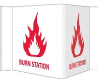 Visi Burn Station 8X14.5 Rigid Vinyl