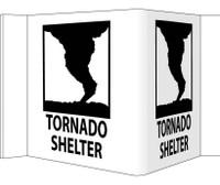Visi Tornado Shelter 8X14.5 Rigid Vinyl