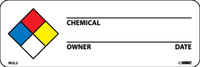 Labels Hazard Warning Nfpa 1X3 Ps Paper 500/Rl