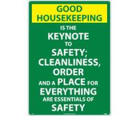 Good Housekeeping Is The Keynote.. 28X20 .040 Alum