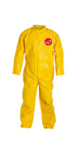 DuPont Tychem® 2000 Yellow Coverall - QC120B YL