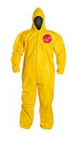 DuPont Tychem® 2000 Yellow Coverall - QC127B YL