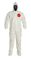 DuPont Tychem® 4000 White Coverall - SL122B WH BN