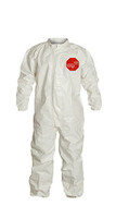 DuPont Tychem® 4000 White Coverall - SL125T WH
