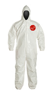 DuPont Tychem® 4000 White Coverall - SL127B WH