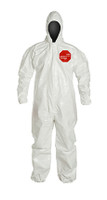 DuPont Tychem® 4000 White Coverall - SL127T WH
