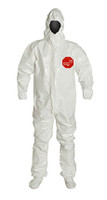 DuPont Tychem® 4000 White Coverall - SL128T WH BF
