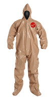 DuPont Tychem® 5000 Tan Coverall - C3122T TN