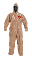 DuPont Tychem® 5000 Tan Coverall - C3127T TN