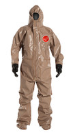 DuPont Tychem® 5000 Tan Coverall - C3199T TN BOOT & BUTYL