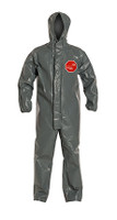 DuPont Tychem® 6000 FR Gray Coverall - TP198T GY BN