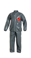 DuPont Tychem® 6000 FR Gray Jacket/Bib Overall - TP750T GY